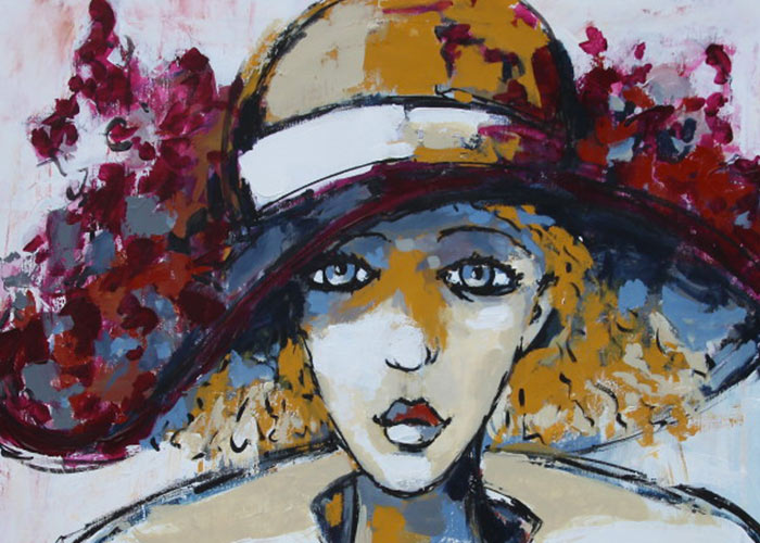Galerie d'art de l'artiste peintre à Dijon